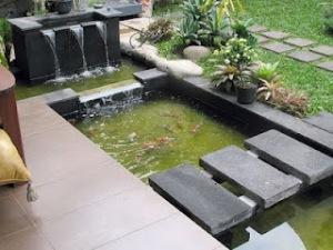 kolam ikan minimalis 4