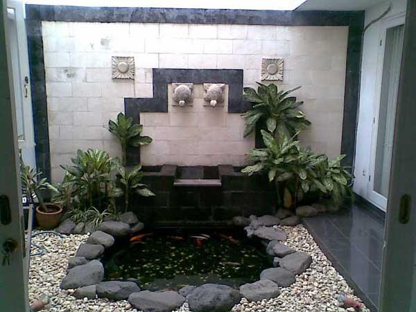 design taman minimalis | tukang taman minimalis | kolam koi minimalis