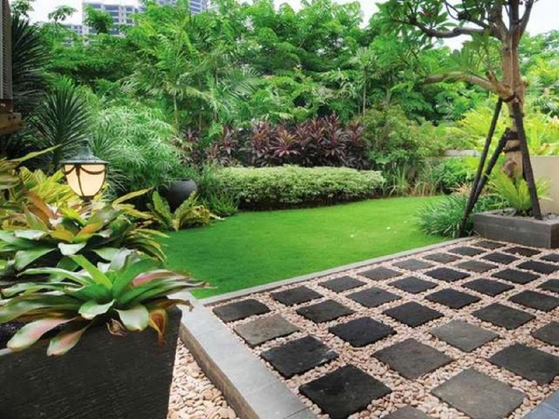 Taman Rumah Minimalis Batu Alam Healthy Body Free Mind